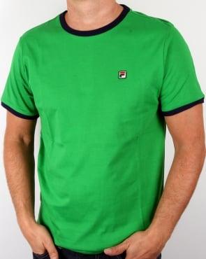 Fila Vintage Marconi T-shirt Alpine Green