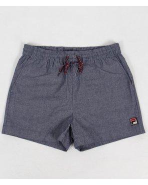 Fila Vintage Marlo Chambray Shorts Chambray