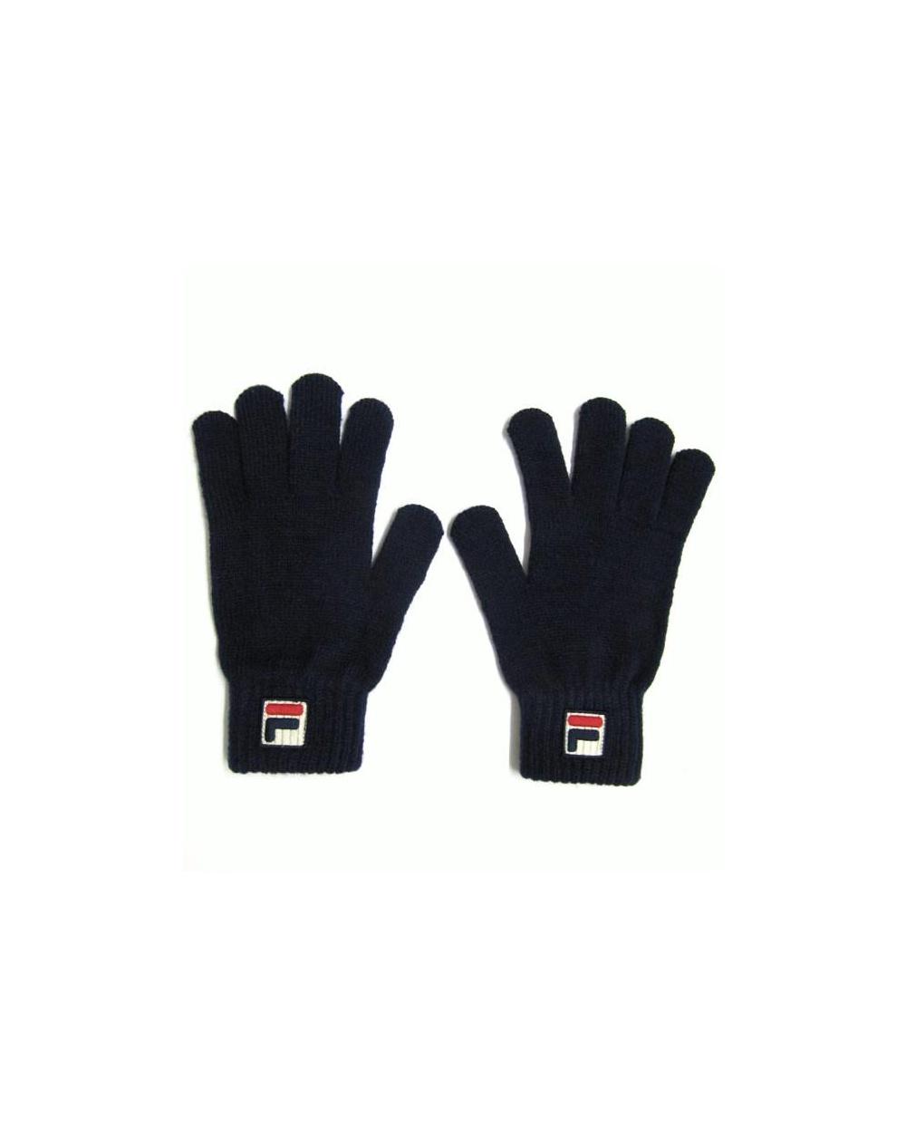 707ae513d29 Fila Vintage Marras Gloves Navy - fila vintage classic gloves