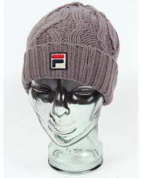 Fila Vintage Marsura Knitted Ski Beanie Grey