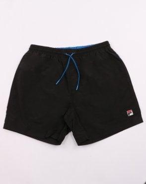 87fa9c62ff7205 Fila Vintage Martin Swim Shorts Black