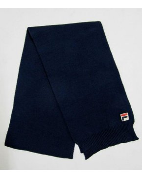 Fila Vintage Melis Knitted Scarf Navy