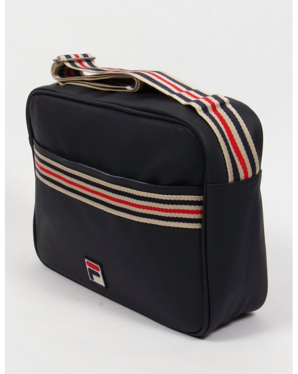 Fila Vintage Mercia Flight Bag Navy