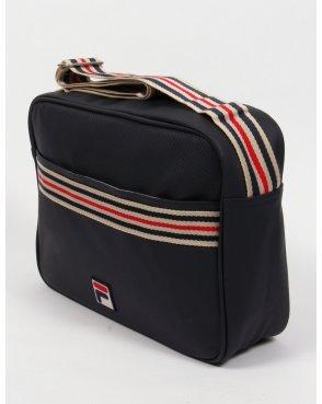 Fila Vintage Mercia Flight Bag Navy