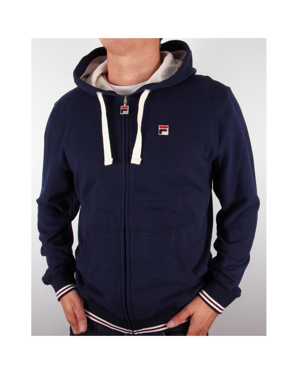 fila hoodie blue