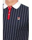 Fila Vintage Mk1 Settanta Polo Shirt Navy/White