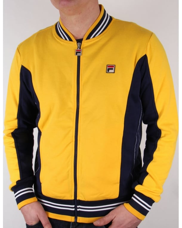 Fila Vintage Mk1 Settanta Track Top Golden Yellow