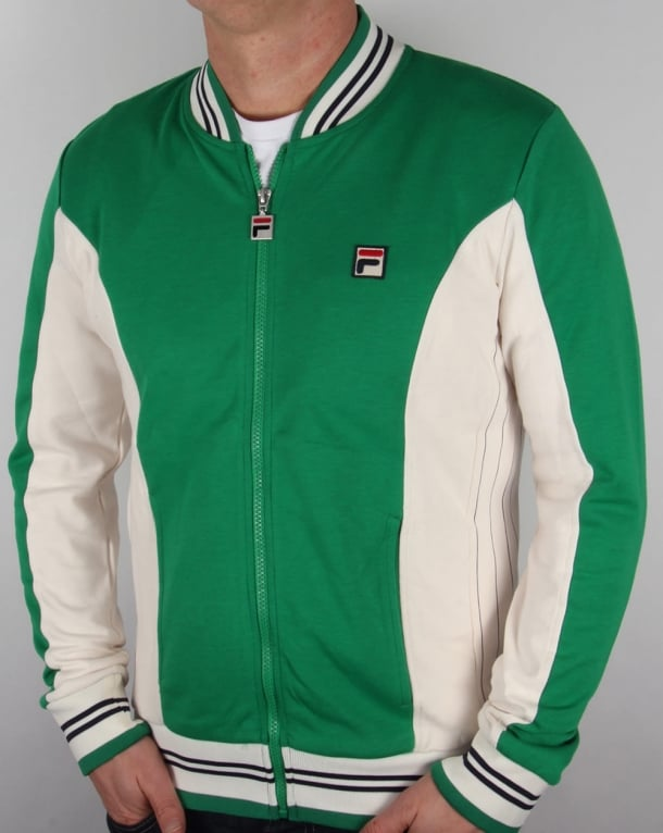 Fila Vintage Mk1 Settanta Track Top Kelly Green