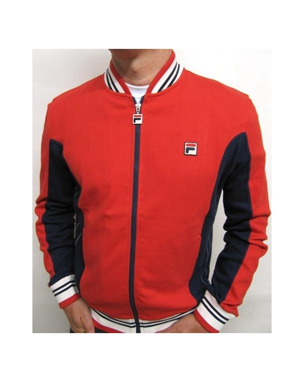 Fila Vintage Mk1 Settanta Track Top Red/navy