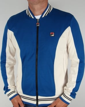 Fila Vintage Mk1 Settanta Track Top Royal Blue