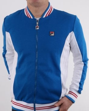 Fila Vintage Mk1 Settanta Track Top True Royal/white