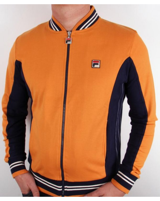 Fila Vintage Mk1 Settanta Track Top Warm Copper