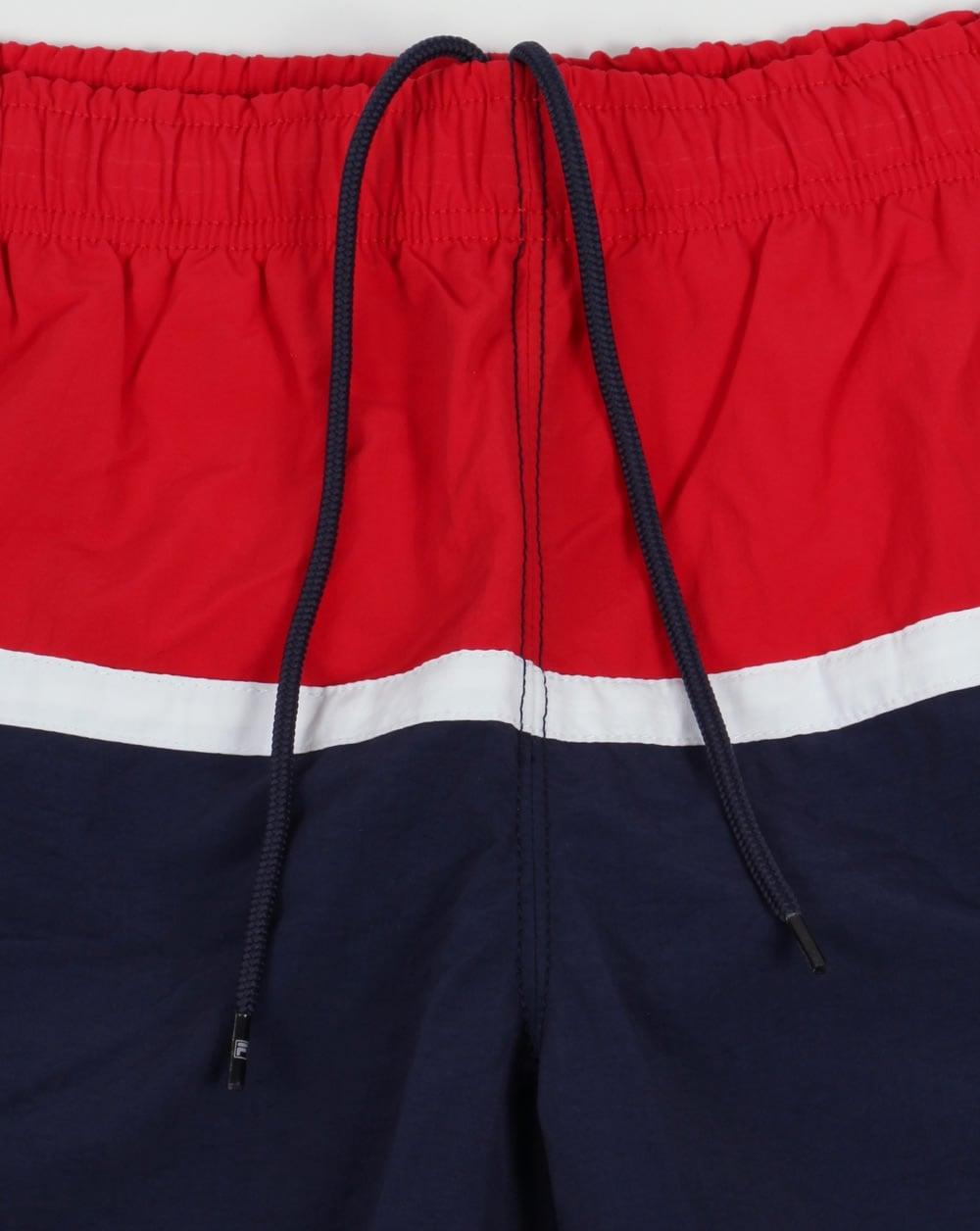 b8fc7c373eb39 Fila Vintage Nargiso Swim Shorts Navy