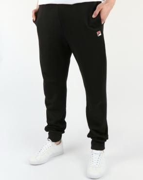 Fila Vintage Naso Track Pants Black