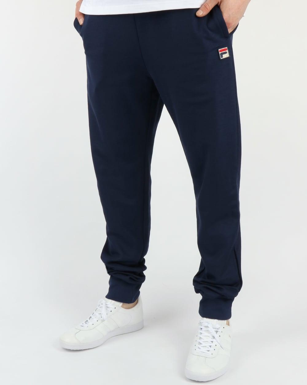 125d23e9ece97 Fila Vintage Naso Track Pants Navy,blue,tracksuit,bottoms,classic,mens