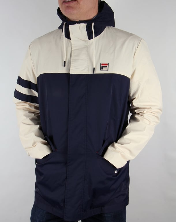 Fila Vintage Nautical Jacket Navy/gardenia