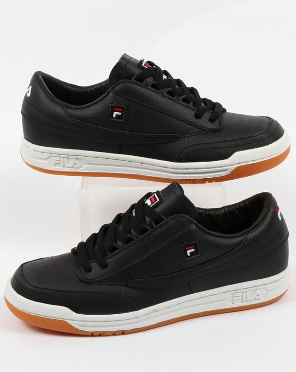 Fila Vintage Original Tennis Trainers Black/Gum