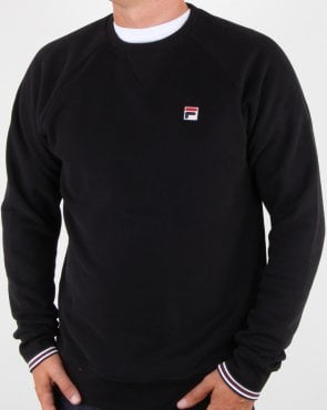 Fila Vintage Pozzi Crew Sweat Black