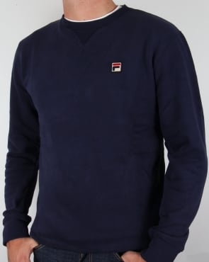 Fila Vintage Premium Navy Sweatshirt