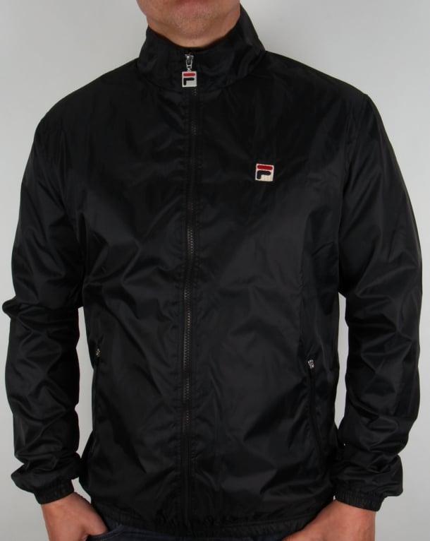 Fila Vintage Quayside Jacket Black