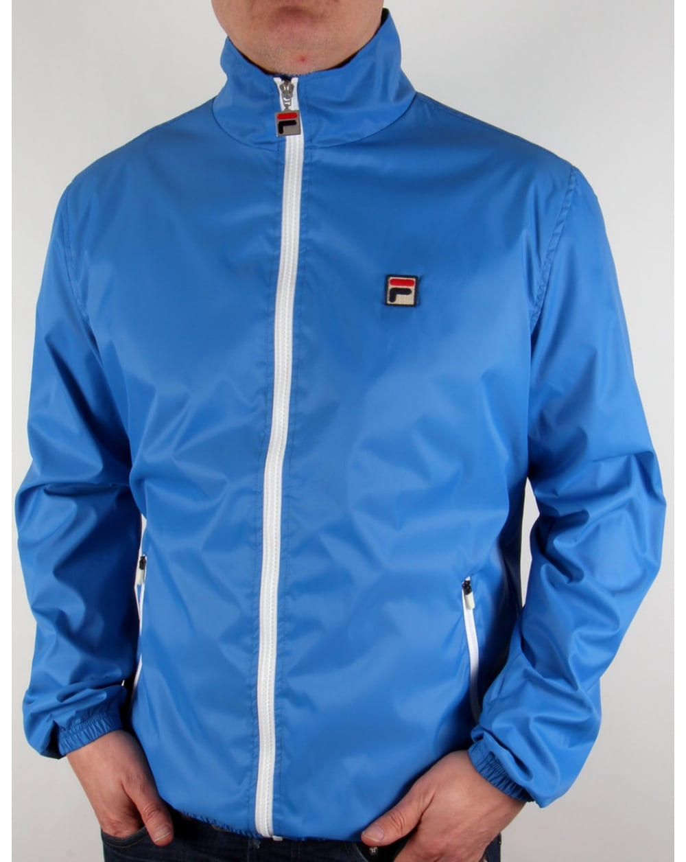 c42aed636a3f Fila Vintage Fila Vintage Quayside Jacket Ocean Blue
