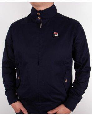 Fila Vintage Quintino Harrington Jacket Navy