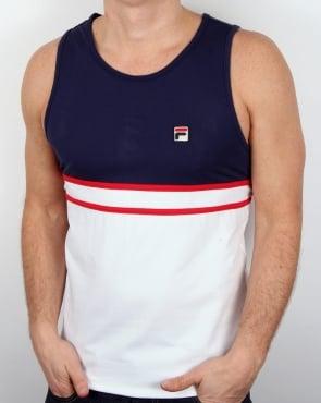 Fila Vintage Quinzi Vest Navy/White