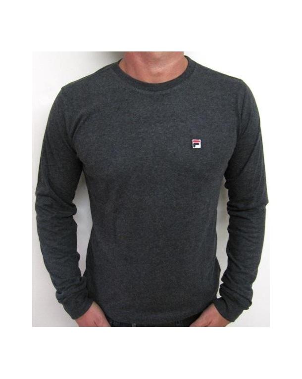 Fila Vintage Ridge L/s T-shirt Charcoal