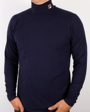 Fila Vintage Roll Neck Navy