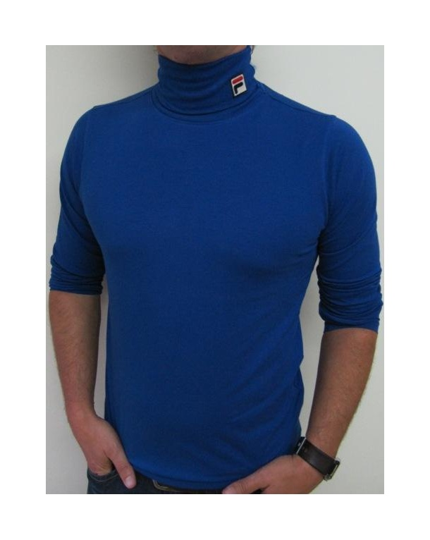 Fila Vintage Roll Neck Royal Blue