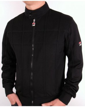 Fila Vintage Saturn 2 Track Top Black