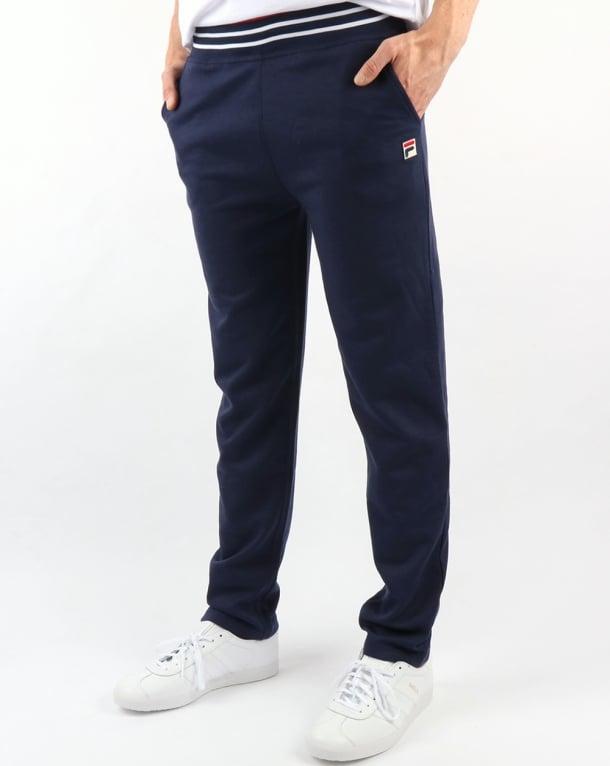 Fila Vintage Settanta Slim Track Pant Navy