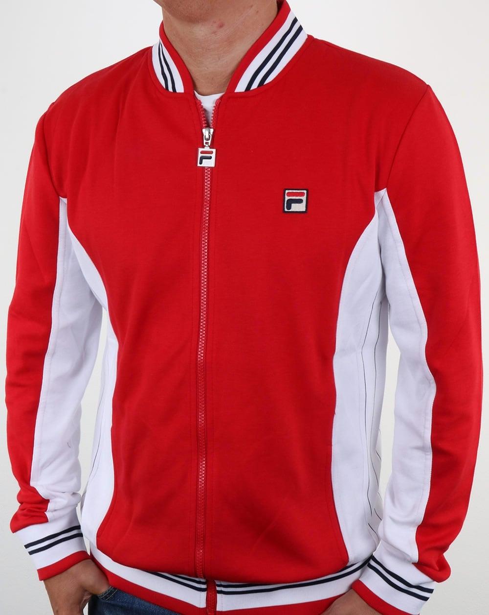 66a1464ba654 Fila VintageSettanta Track Top Red,mk1,jacket,borg,bj,tracksuit