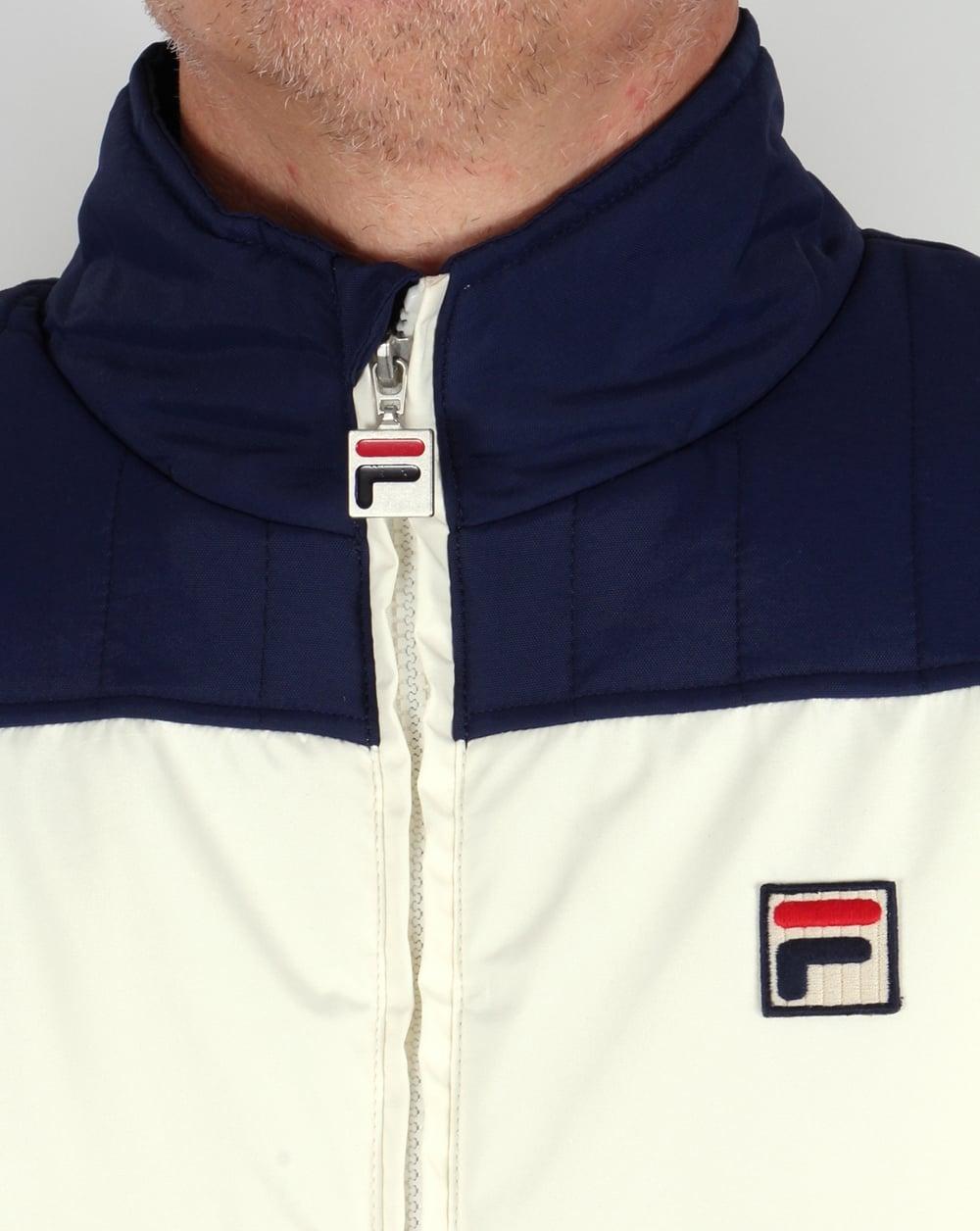Fila Vintage Stenmark Ski Jacket Gardenia/Navy