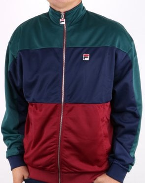 Fila Vintage Sterling Track Top Atlantic Deep/navy/tibetan Red
