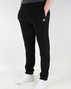Fila Vintage Stoppini Toweling Track Pants Black