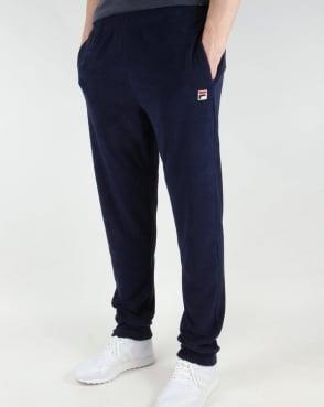 Fila Vintage Stoppini Track Pants Navy