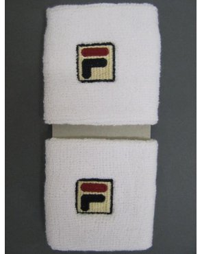 Fila Vintage Sweatband Double Pack White