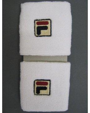 Fila Vintage Sweatband Double Pack White