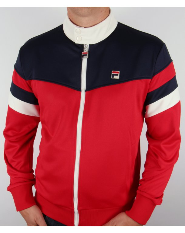 red fila tracksuit
