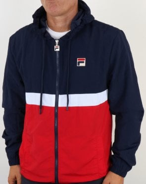 Fila Vintage Tate Jacket Navy/Red/White