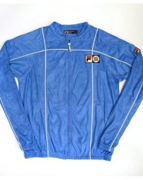Fila Vintage Terrinda Mk3 Pro Badged Track Top French Blue