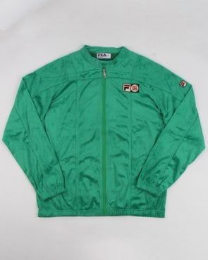 Fila Vintage Terrinda Mk3 Pro Badged Track Top Green