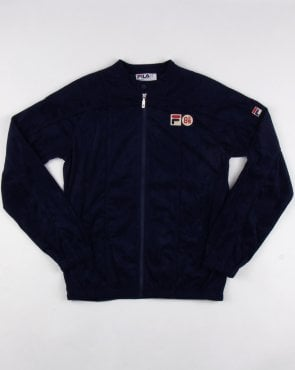 Fila Vintage Terrinda Mk3 Pro Badged Track Top Navy