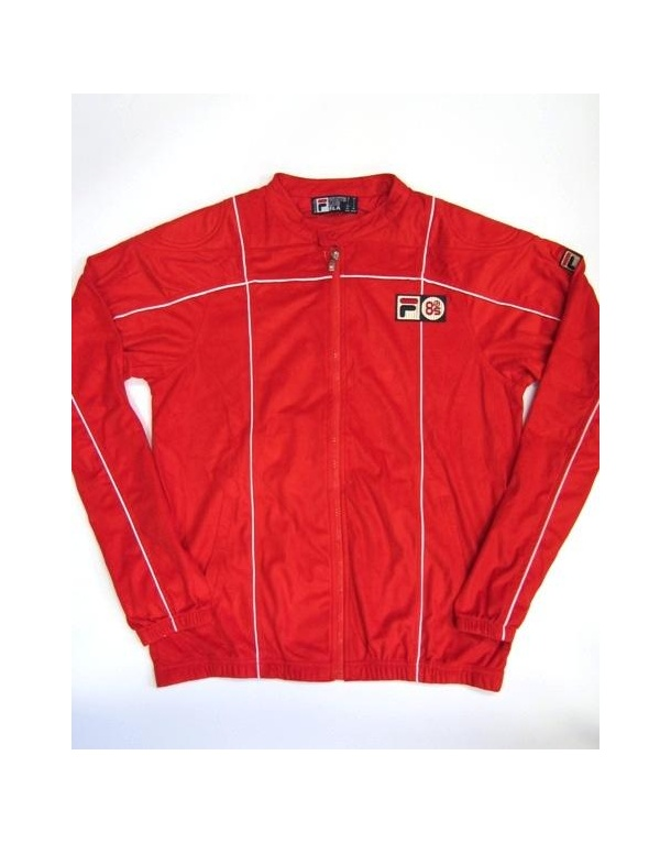 Fila Vintage Terrinda Mk3 Pro Badged Track Top Red