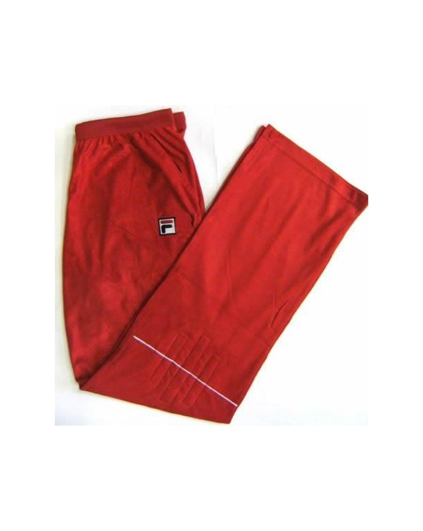 Fila Vintage Terrinda Mk3 Track Bottoms Red