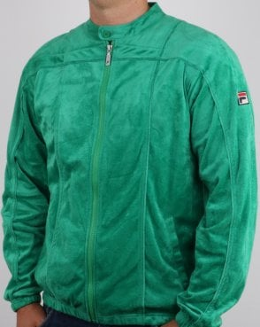 Fila Vintage Terrinda Mk3 Track Top Green