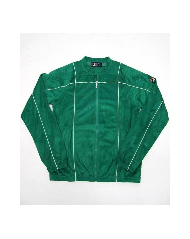 Fila Vintage Terrinda Mk3 Track Top Kelly Green