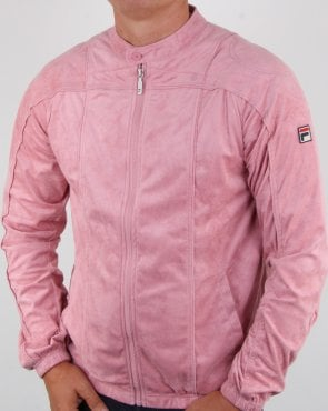 Fila Vintage Terrinda Mk3 Track Top Pink Shadow