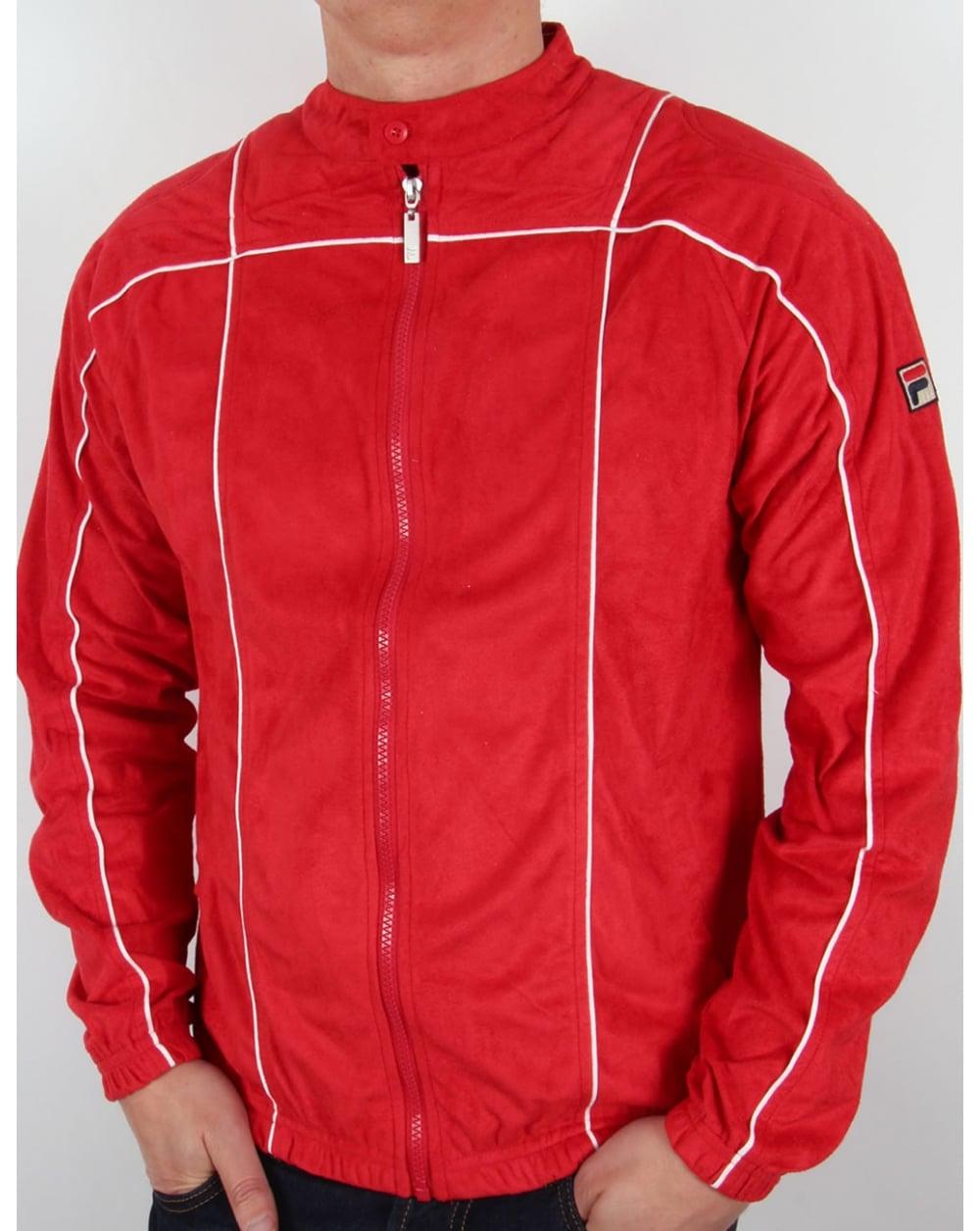 e76998029017 Fila Vintage Fila Vintage Terrinda Mk3 Track Top Red